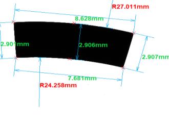 基于机器设想图的产物尺寸在线检测体系