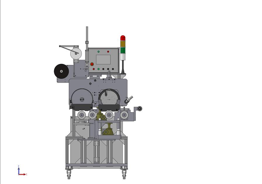 高精度線纜計米熱印機