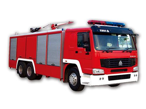 新型消防車實驗平臺